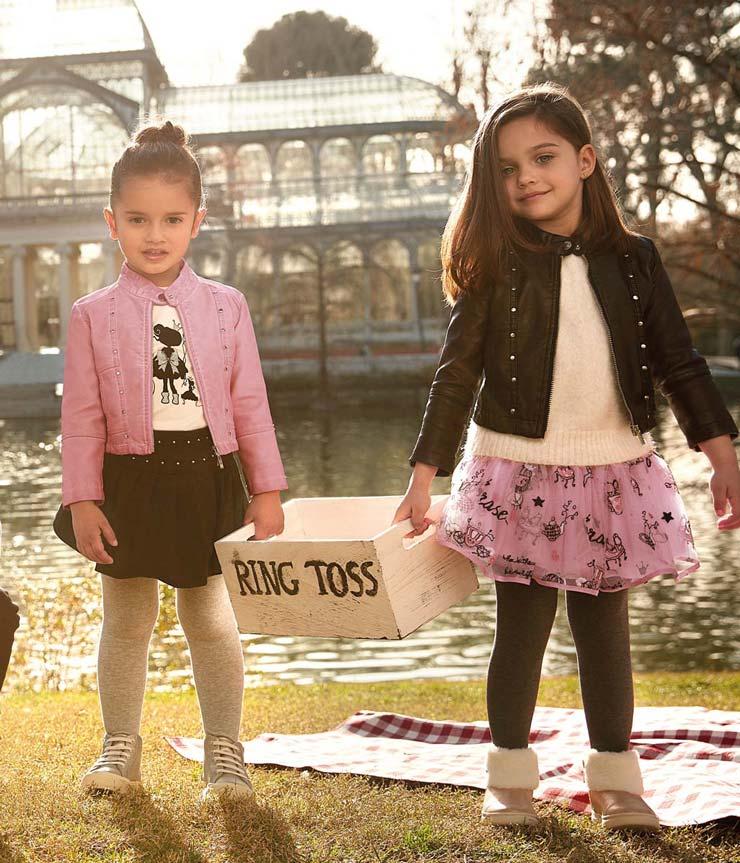 5ed147cda Pantalón confeccionado en punto roma con entretela elástica. Toda la moda  Mayoral para las niñas de hasta 8 años.