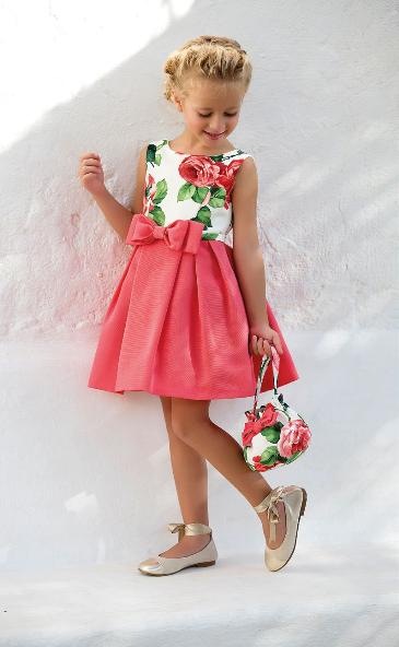 Vestido 22438, color 0012 Crudo- Talla: 1, 2, 3, 4, 5, 6, 8, 10 Colección Amaya